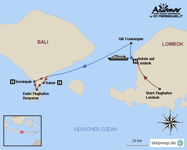 Indonesien Inselhüpfen Inselhüpfen Indonesien inklusive Flug