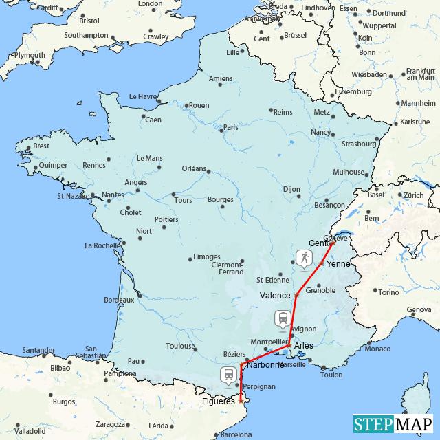 Jakobsweg durch Frankreich