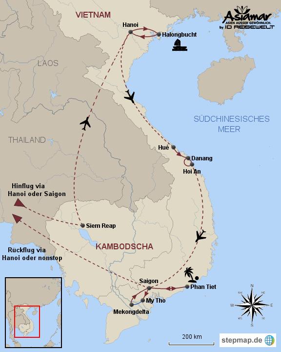indochinas l cheln kambodscha und vietnam rundreise mit. Black Bedroom Furniture Sets. Home Design Ideas