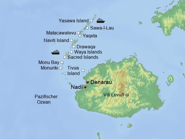 Kreuzfahrten Fiji