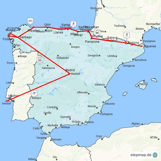GR 11 und Camino del Norte