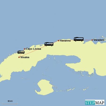 Fahrt von Varadero nach Vinales und Ausflug nach Cayo Levisa