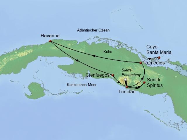 Das Kuba der 50er Jahre Zentral