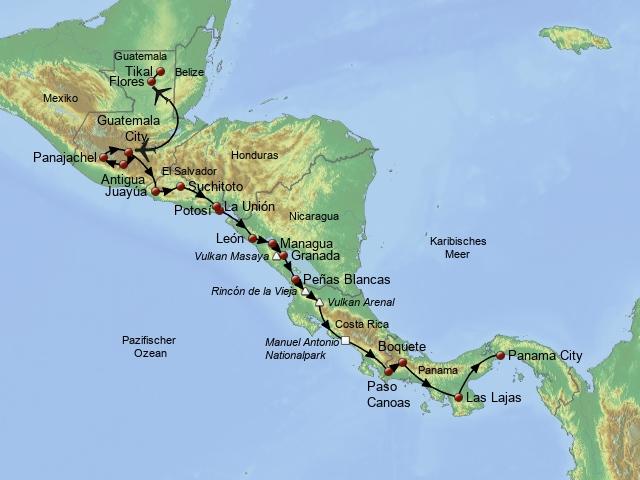Mittelamerika Drive