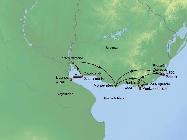 Genuss, Kultur & Erlebnis am Rio de la Plata