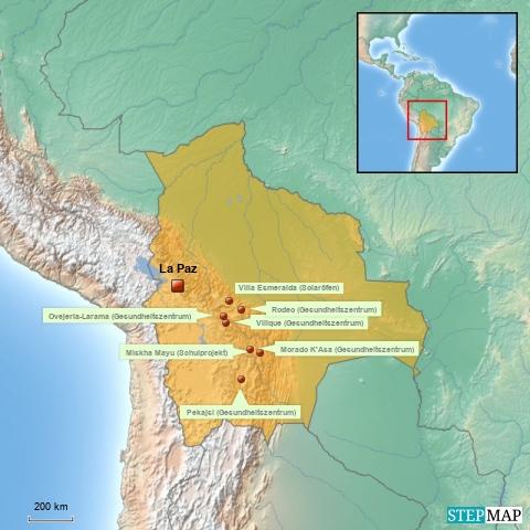 Huasi Bolivia Projekte 2015