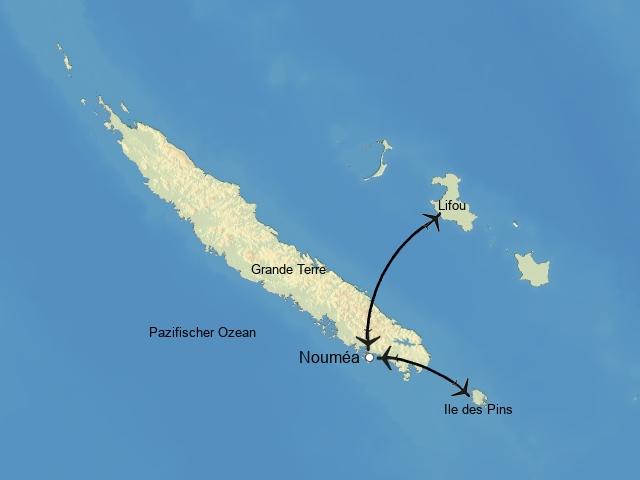 Inselhüpfen Neukaledonien