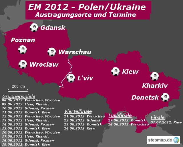 EM 2012 - Polen/Ukraine