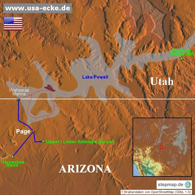 USA 2015 Map 12 Page