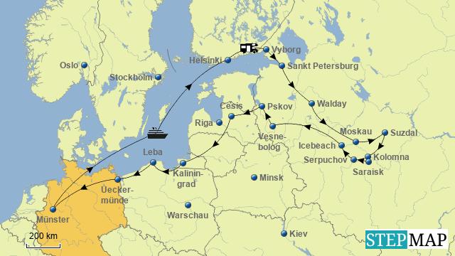 Wohnmobiltour durch Russland in 2015 final
