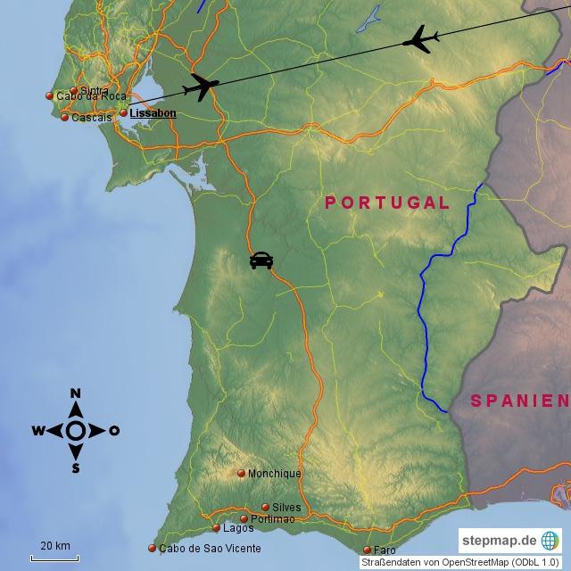 Lissabon mit Südportugal