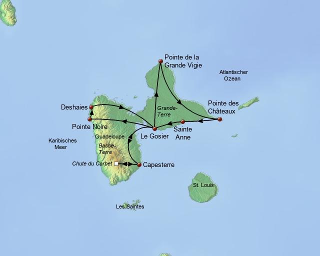 Ausflugspaket Guadeloupe