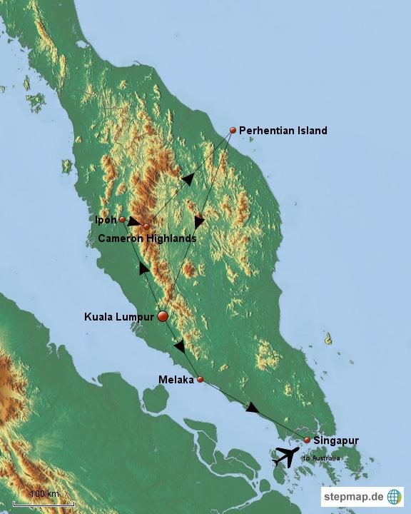Malaysia & Singapur
