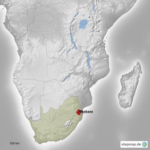 Die Wirtschaft Swazilands hängt zu 90 Prozent von Importen aus dem mächtigen Nachbarland Südafrika ab.