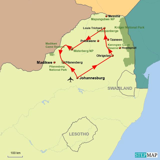 SA Safari intensiv
