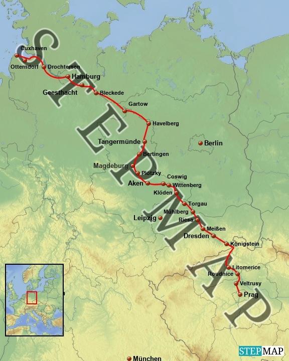 campingplätze deutschland karte Elberadweg Camping | Fahrradtouren in Deutschland