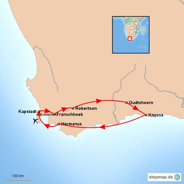 Feinschmecker Reise am Kap