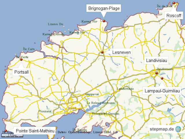 Bretagne-Orte