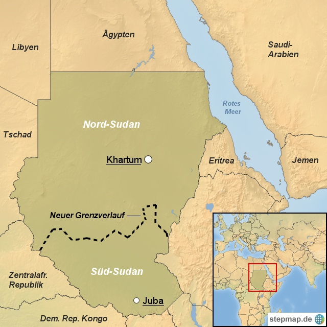 Nord- und Südsudan