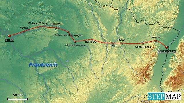 Paneuropa-Radweg Etappe 1