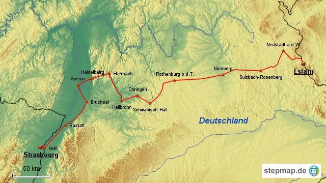 Paneuropa-Radweg Etappe 2