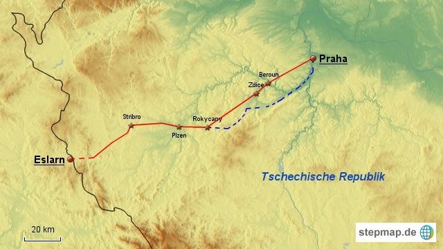 Paneuropa-Radweg Etappe 3