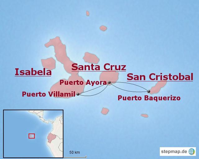 Ecuador-Baustein: Vielfältiges Galapagos
