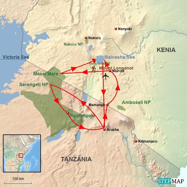 KE Ostafrika Abenteuer