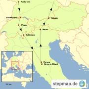 Fahrt in die Toskana