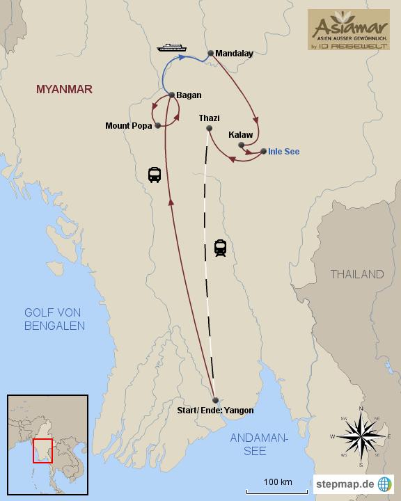 Rundreise Myanmar Myanmar Ueberland Reisen wie Einheimische HOMEPAGE