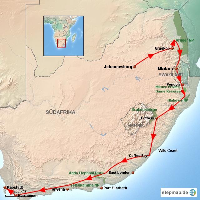 SA Abenteuer Südafrika