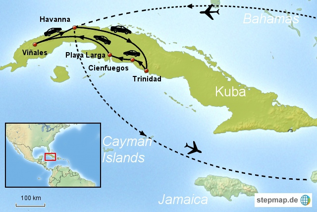 Mietwagenreise Kuba Option 2