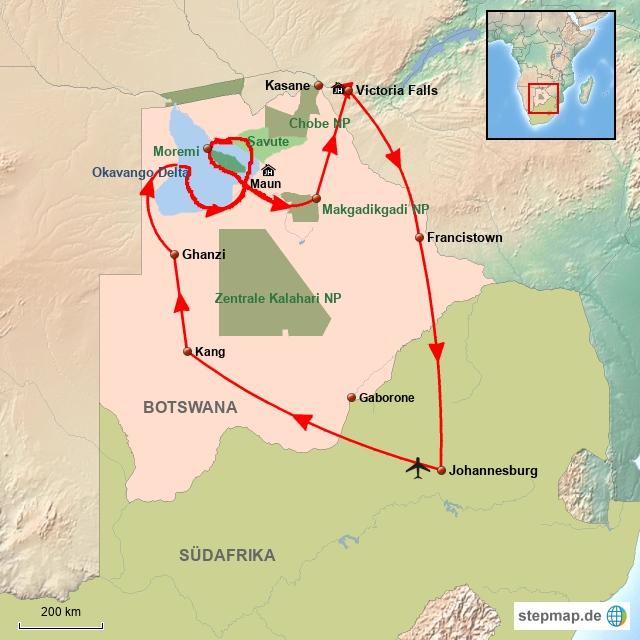BO Botswana für Preisbewusste