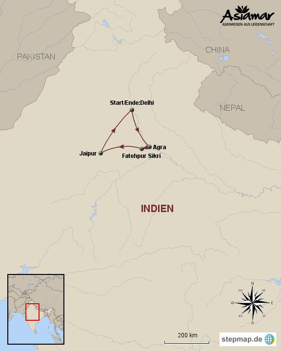 Indien Einstergertour durch das Goldene Dreieck _ HOMEPAGE