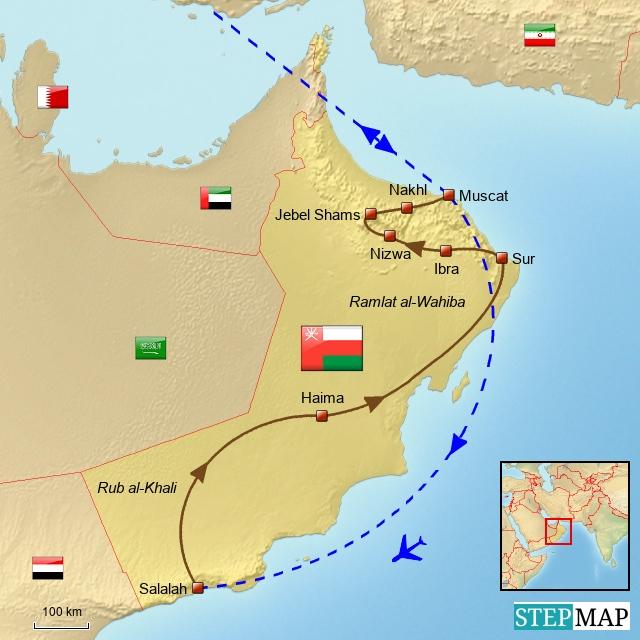 Rundreise Oman 2015