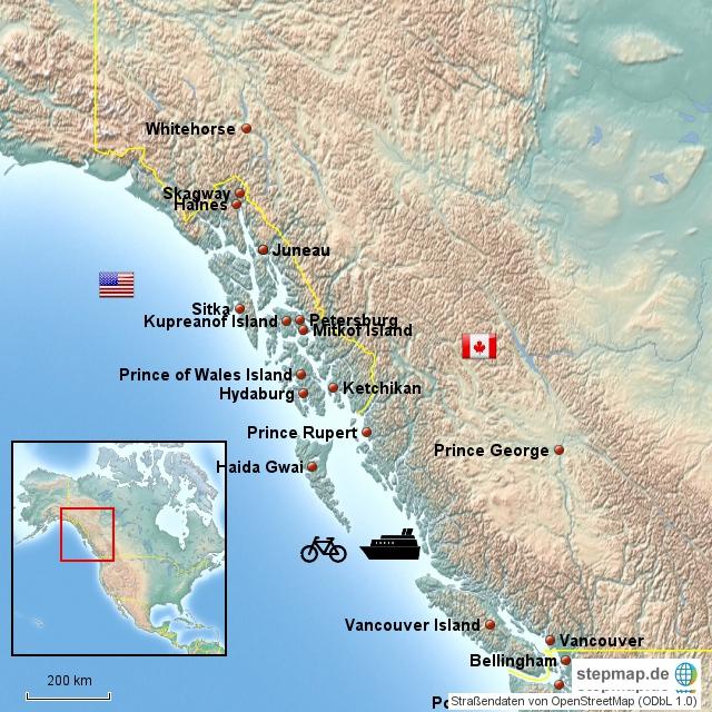 Südost Alaska