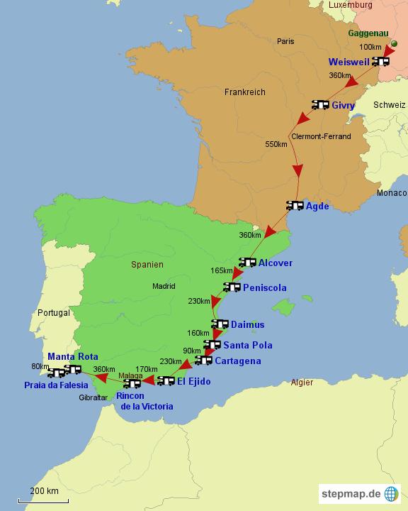 Frankreich/Spanien 2015