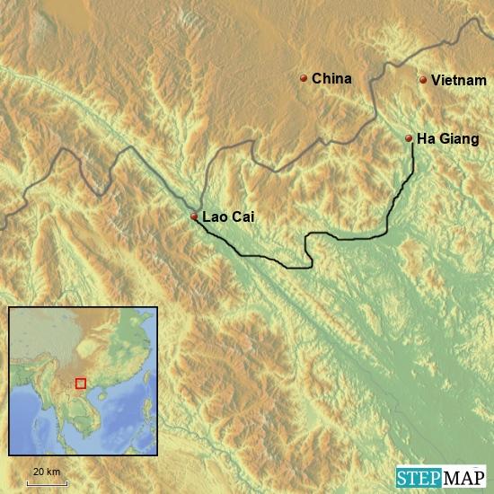 Von Ha Giang nach Lao Cai  200 km