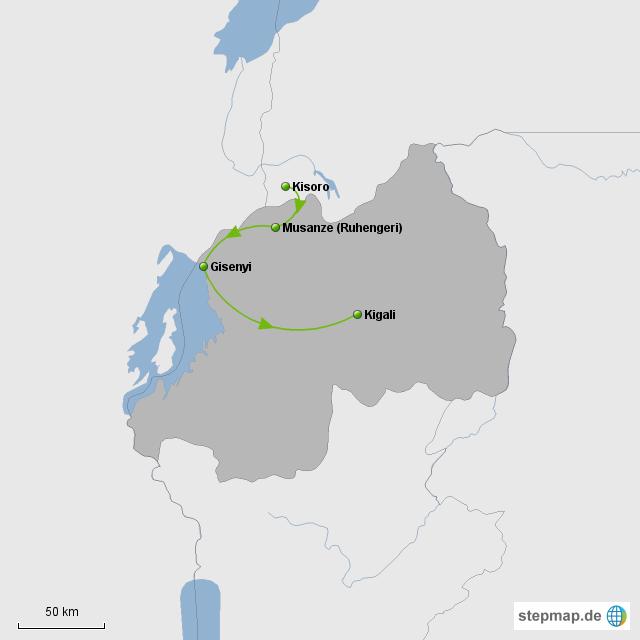 Route Ruanda