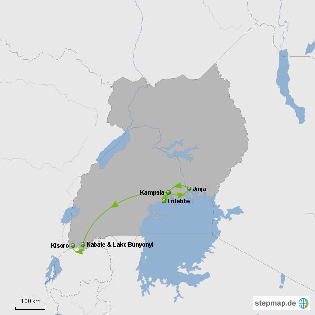 Route Uganda