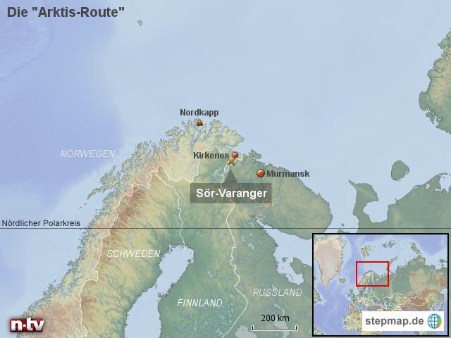 """Die """"Arktis-Route"""""""