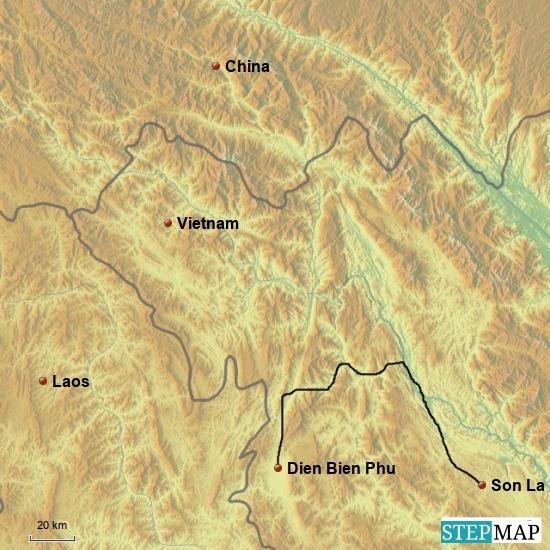 Dien Bien Phu - Son La 150 km