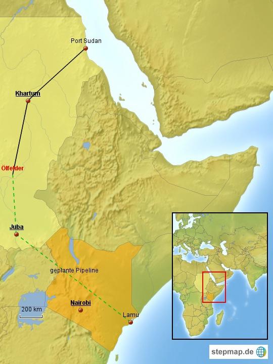 Pipeline Südsudan Kenia