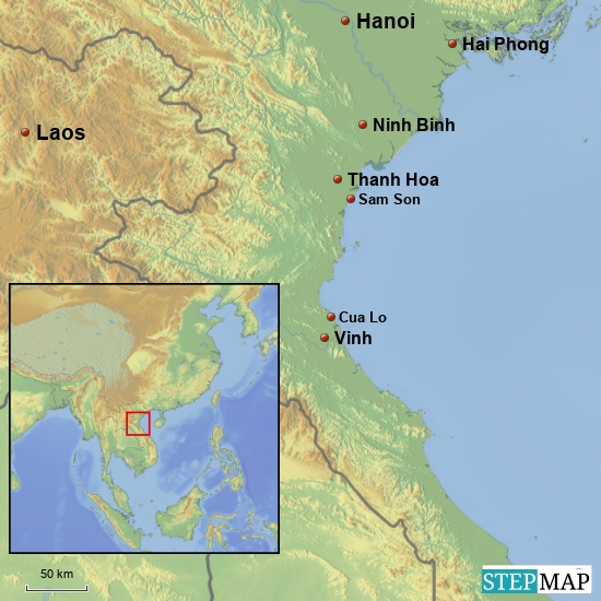 Sam Son - Cua Lo 100 km