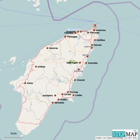 Rhodos Karte Flughafen.Griechenland Reisebericht Rhodos Stadt Und Die Westküste
