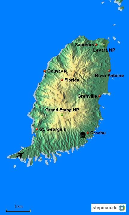 Grenada war zu entdecken