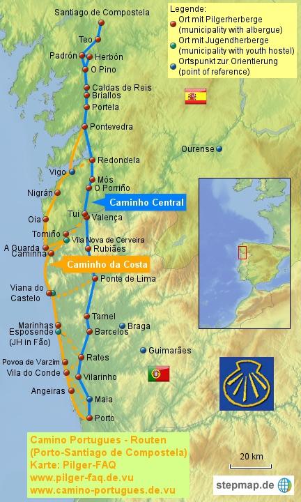 Camino Portugues - Küstenweg