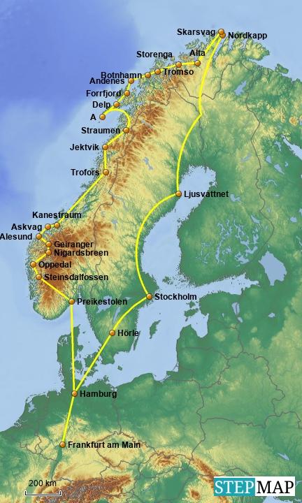 Norwegen 2014
