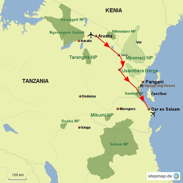 TZ Tanzania für Entdecker