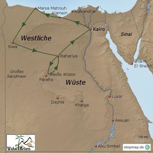 Highlights der Westlichen Wüste